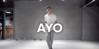 Ayo Chris Brown, Tyga Jihoon Kim Choreography 1million Dance
