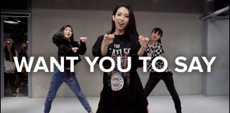 Want You To Say Playback Mina Myoung Choreography 1million Dance