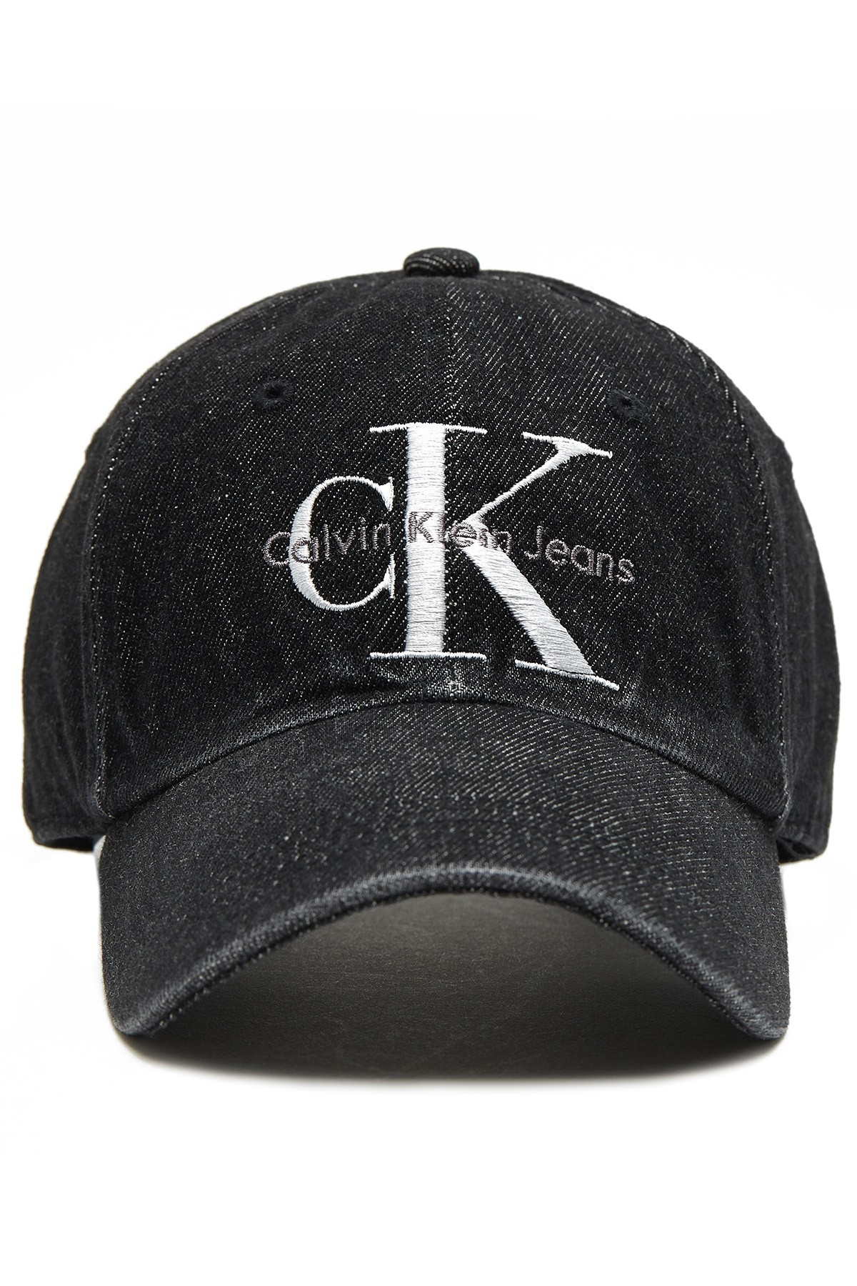 CALVIN KLEIN Baseball Cap Black Denim - 1Million Outfits 86722a53f66