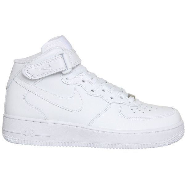 brand new d45ac 9ce7f Nike Men s Air Force 1 Mid  07 Basketball Shoe White