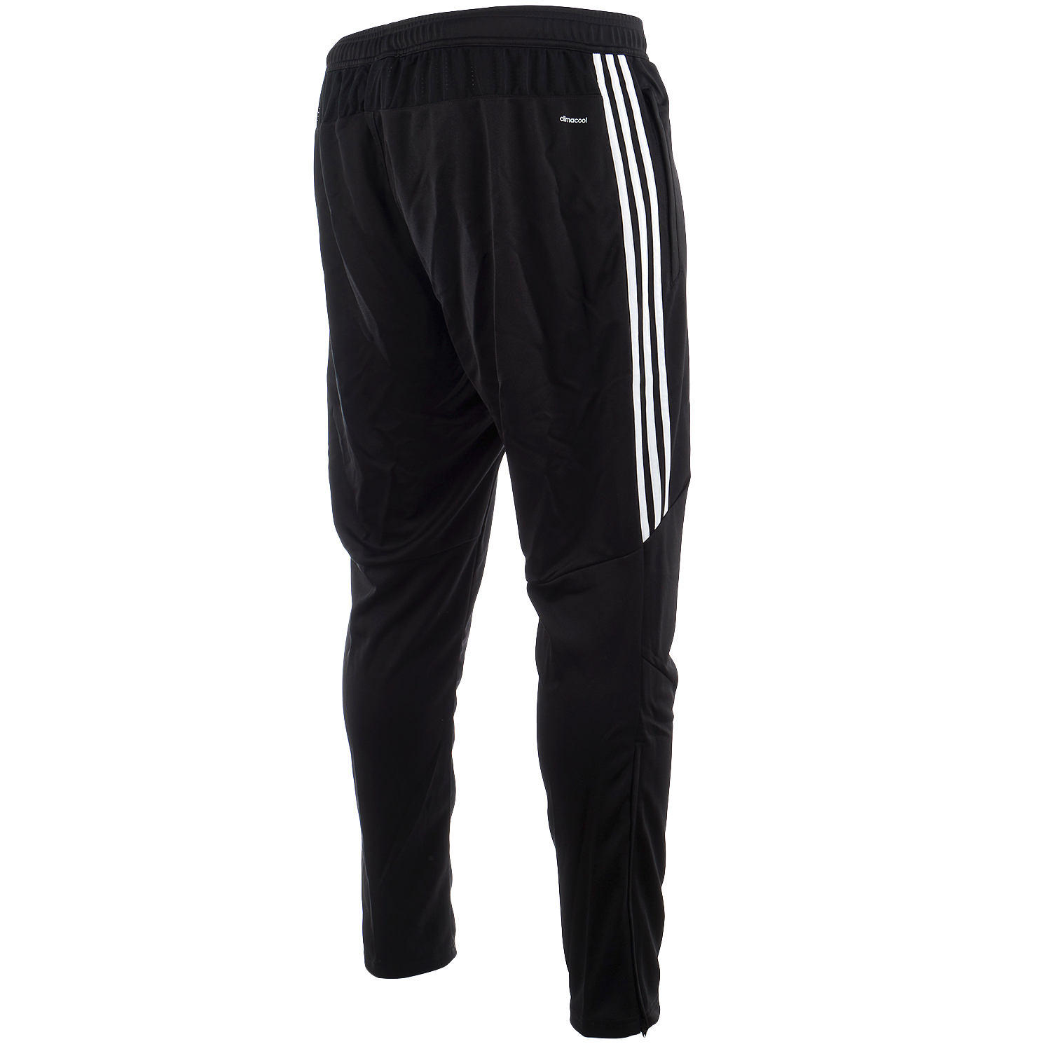 white adidas soccer pants