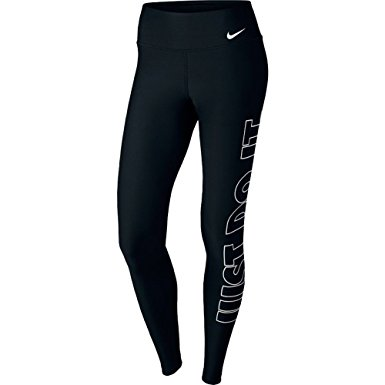 5cfdb638817e4 NIKE Women's Power Tights Poly Just Do It - 1Million Outfits